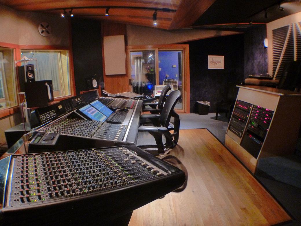 Skylab Recording Studios Control Room